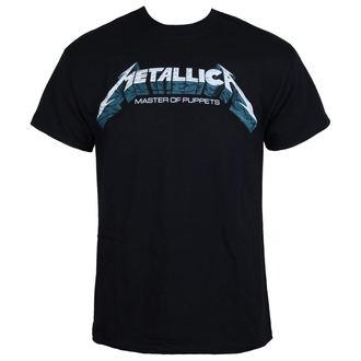 tričko pánské Metallica - Master of Puppets Blue Poster - Black
