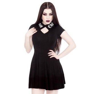 šaty dámské KILLSTAR - Lucine - Black, KILLSTAR