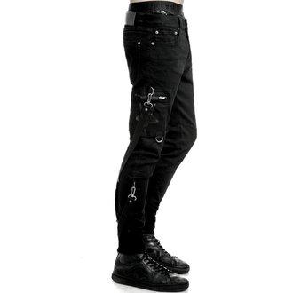 kalhoty pánské KILLSTAR - Death Trap - Black, KILLSTAR