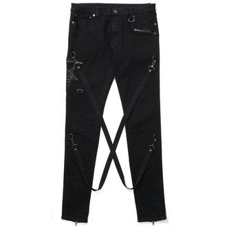 kalhoty pánské KILLSTAR - Death Trap - Black - K-DNM-M-2286