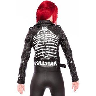 bunda dámská (křivák) KILLSTAR - Morgue Gimme Bones - Black