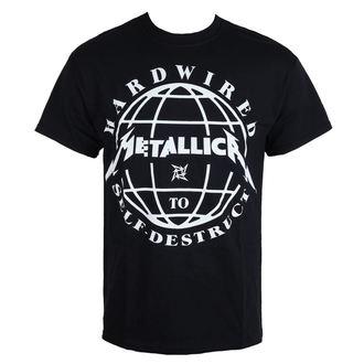 tričko pánské Metallica - Hardwired Domination - Black