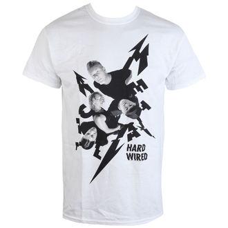 tričko pánské Metallica - Aerial Band - White - RTMTLTSWAER