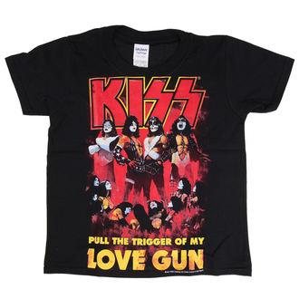 tričko dětské Kiss - Love Gun - LOW FREQUENCY - KITS060011KD