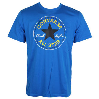 tričko pánské CONVERSE - Core Seasonal Cp - blue(soar) - 10003688-A02