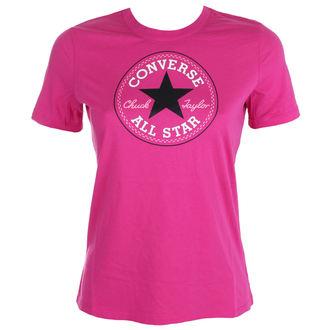 tričko dámské CONVERSE - CORE SOLID CHUCK - PINK - 10001124-A10