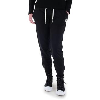 kalhoty dámské (tepláky) CONVERSE - CORE SIGNATURE FT - Black - 10003140-A01