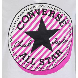 tričko dámské CONVERSE - Off Center Stripe, CONVERSE