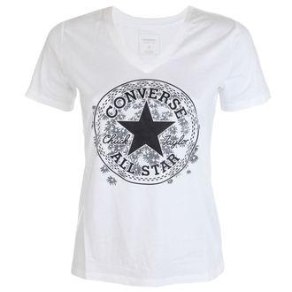 tričko dámské CONVERSE - Daisy - White - 10003594-A01