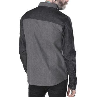 košile pánská HYRAW - CHEMISE FUCK DEAD, HYRAW