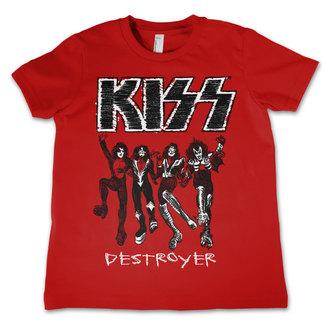 tričko dětské KISS - Destroyer - HYBRIS - ER-12-KISS031-H68-8-RD