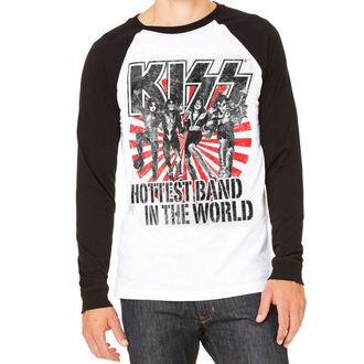 tričko pánské s dlouhým rukávem KISS - Hottest Band In The World - HYBRIS, HYBRIS, Kiss