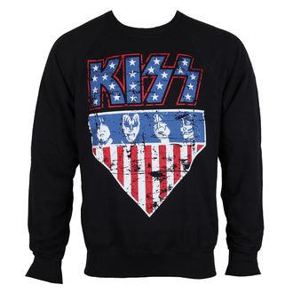 mikina pánská KISS - Stars & Stripes - HYBRIS, HYBRIS, Kiss