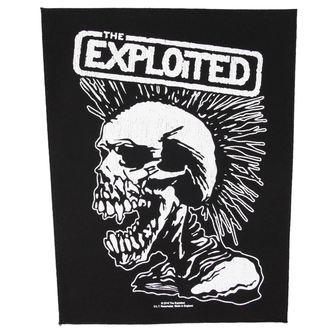 nášivka THE EXPLOITED - VINTAGE SKULL - RAZAMATAZ, RAZAMATAZ, Exploited