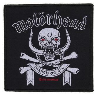 nášivka Motörhead - March ör Die - RAZAMATAZ, RAZAMATAZ, Motörhead