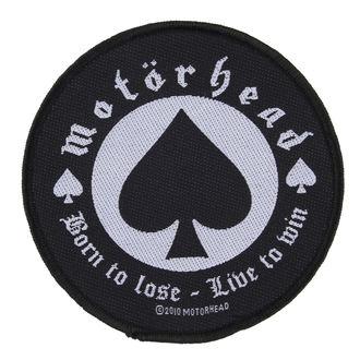 nášivka Motörhead - BORN TO LOSE - RAZAMATAZ, RAZAMATAZ, Motörhead