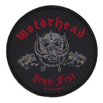 nášivka Motörhead - IRON FIST/SKULL - RAZAMATAZ, RAZAMATAZ, Motörhead