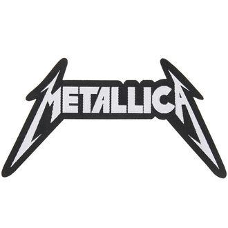 nášivka METALLICA - SHAPED LOGO - RAZAMATAZ, RAZAMATAZ, Metallica