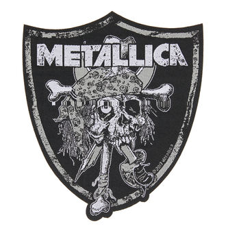 nášivka METALLICA - RAIDERS SKULL - RAZAMATAZ, RAZAMATAZ, Metallica