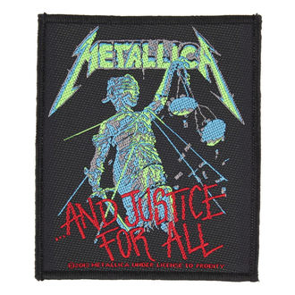 nášivka METALLICA - AND JUSTICE FOR ALL - RAZAMATAZ - SP2731
