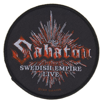 nášivka SABATON - SWEDISH EMPIRE LIVE - RAZAMATAZ - SP2734