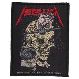 nášivka METALLICA - HARVESTER OF SORROW - RAZAMATAZ, RAZAMATAZ, Metallica
