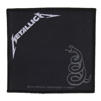nášivka METALLICA - BLACK ALBUM - RAZAMATAZ, RAZAMATAZ, Metallica