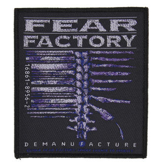 nášivka FEAR FACTORY - DEMANUFACTURE - RAZAMATAZ, RAZAMATAZ, Fear Factory