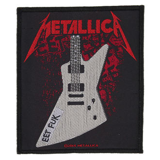 nášivka METALLICA - EET FUK - RAZAMATAZ, RAZAMATAZ, Metallica