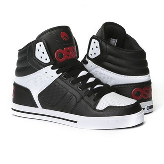 boty OSIRIS - Clone Black/Red/White, OSIRIS