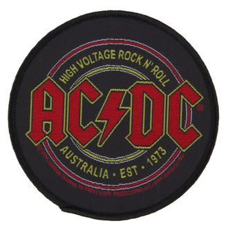 nášivka AC/DC - HIGH VOLTAGE ROCK ´N´ ROLL - RAZAMATAZ, RAZAMATAZ, AC-DC