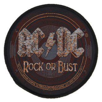 nášivka AC/DC - ROCK OR BUST - RAZAMATAZ, RAZAMATAZ, AC-DC