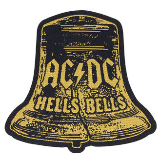 nášivka AC/DC - HELLS BELLS CUT OUT - RAZAMATAZ - SP2829