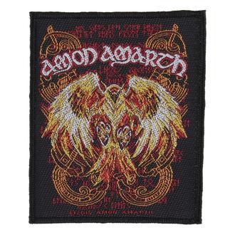 nášivka AMON AMARTH - PHOENIX - RAZAMATAZ, RAZAMATAZ, Amon Amarth