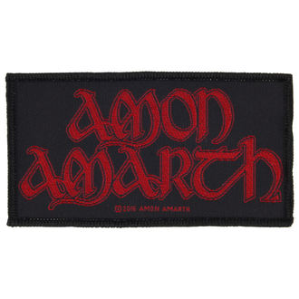 nášivka AMON AMARTH - RED LOGO - RAZAMATAZ - SP2854