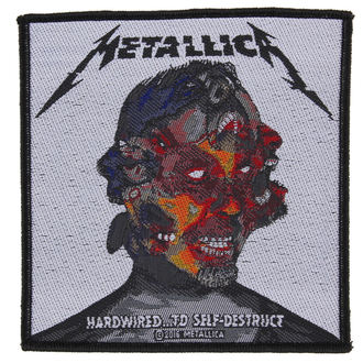 nášivka METALLICA - HARDWIRED TO SELF DESTRUCT - RAZAMATAZ - SP2874