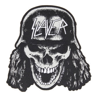nášivka SLAYER - VVEHRMACHT SKULL CUT OUT - RAZAMATAZ, RAZAMATAZ, Slayer