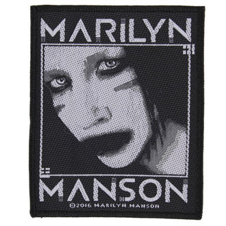 nášivka MARILYN MANSON - VILLAIN - RAZAMATAZ, RAZAMATAZ, Marilyn Manson