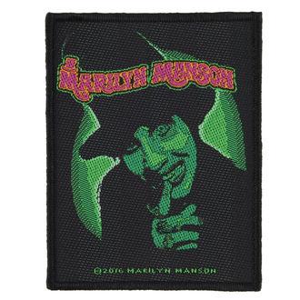nášivka MARILYN MANSON - SMELLS LIKE CHILDREN - RAZAMATAZ, RAZAMATAZ, Marilyn Manson