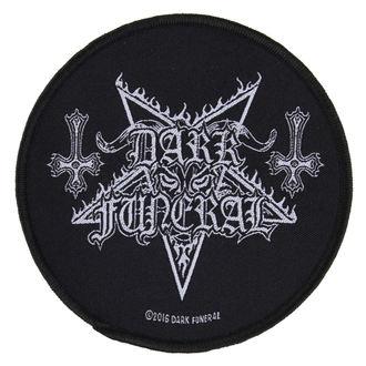 nášivka DARK FUNERAL - CIRCULAR LOGO - RAZAMATAZ, RAZAMATAZ, Dark Funeral