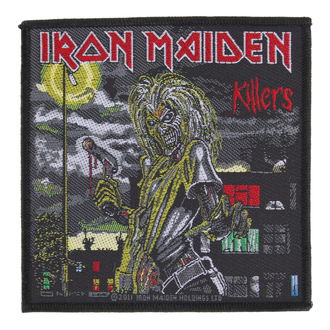 nášivka IRON MAIDEN - KILLERS - RAZAMATAZ - SP2561