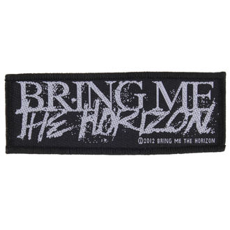nášivka BRING ME THE HORIZON - HORROR LOGO - RAZAMATAZ, RAZAMATAZ, Bring Me The Horizon