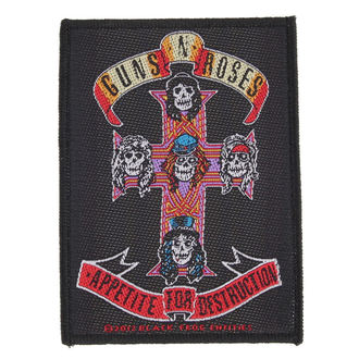 nášivka Guns N' Roses - APPETITE - RAZAMATAZ, RAZAMATAZ, Guns N' Roses