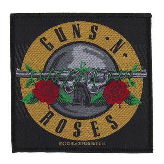 nášivka Guns N' Roses - BULLET LOGO - RAZAMATAZ, RAZAMATAZ, Guns N' Roses