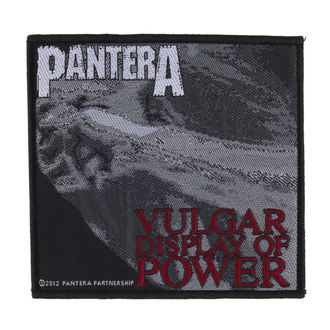 nášivka PANTERA - VULGAR DISPLAY OF POWER - RAZAMATAZ, RAZAMATAZ, Pantera
