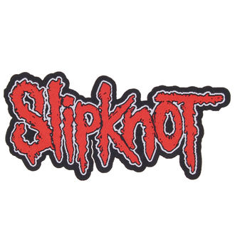 nášivka SLIPKNOT - LOGO CUT-OUT - RAZAMATAZ