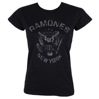 tričko dámské RAMONES - HEY HO BLACK - BRAVADO, BRAVADO, Ramones
