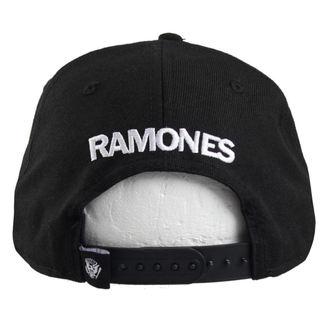 kšiltovka RAMONES - SEAL - BLK/WHT - BRAVADO