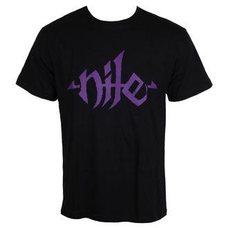 tričko pánské NILE - Purple Logo, NNM, Nile