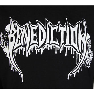 mikina dámská BENEDICTION - Old School - Logo, Benediction